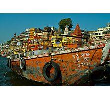 Varanasi India Photographic Print