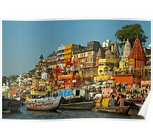 Ganges river India Poster