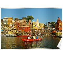 Holy river India Poster
