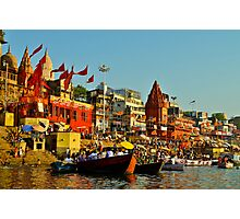 India holy river Photographic Print
