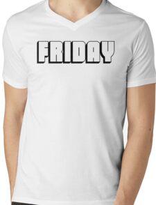 Friday Mens V-Neck T-Shirt