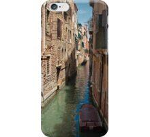 Back Street in Venice iPhone Case/Skin