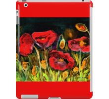 Red Explosion iPad Case/Skin