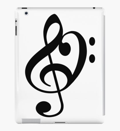 Treble Bass iPad Case/Skin