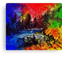 DISASTER COVE Canvas Print