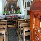The little church of Samnaun by Arie Koene