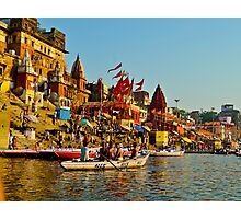 Varanasi city India  Photographic Print