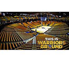 Golden State Warriors Stadium Photographic Print