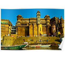 India Ganges river Poster