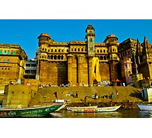 India Ganges river Photographic Print