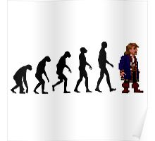 Guybrush Evolution Poster