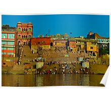 Relections in the Ganges   Poster