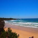 Yamba Beach NSW Australia by Margaret Morgan (Watkins)