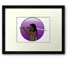 Michonne - The Walking Dead Framed Print