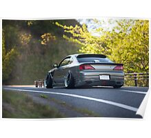 Kikuchi S15 Silvia Poster
