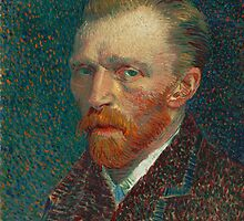 Vincent Van Gogh Self-Portrait by TilenHrovatic