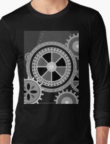 Charlie Chaplin's Modern Times Long Sleeve T-Shirt