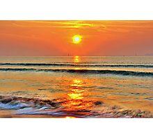 Sea of Fire Photographic Print