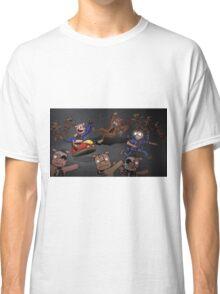 WOO!  Bumper Cars. Classic T-Shirt
