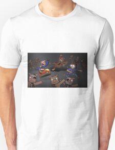 WOO!  Bumper Cars. Unisex T-Shirt