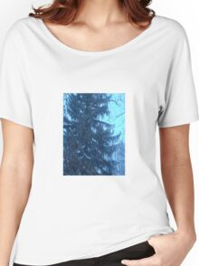 Snow scene Women's Relaxed Fit T-Shirt