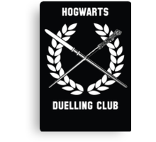 Hogwarts Duelling Club Canvas Print