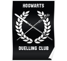 Hogwarts Duelling Club Poster