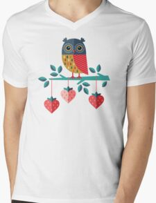 Owl Always Love You Mens V-Neck T-Shirt