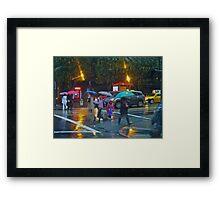 Early Morning Rain SF Framed Print