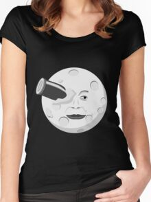 Georde Melies' A Trip to the Moon Women's Fitted Scoop T-Shirt