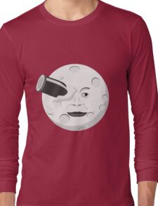 Georde Melies' A Trip to the Moon Long Sleeve T-Shirt