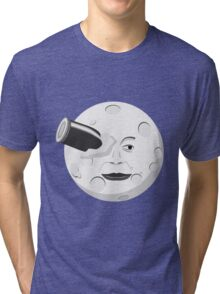 Georde Melies' A Trip to the Moon Tri-blend T-Shirt