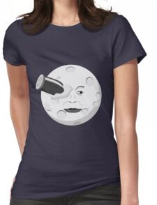 Georde Melies' A Trip to the Moon Womens Fitted T-Shirt