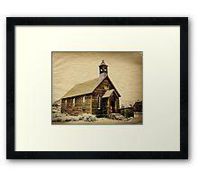 Old Boddie Church Framed Print