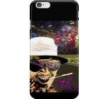 Fear and Loathing in Dark threads iPhone Case/Skin