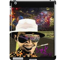 Fear and Loathing in Dark threads iPad Case/Skin