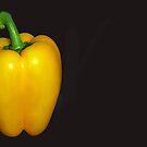 Yellow pepper by Arie Koene