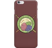 Knotty Hookers Club of America (Official Products) iPhone Case/Skin