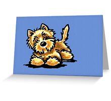 Wheaten Cairn Terrier Greeting Card