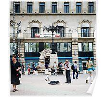 Street performer Poster