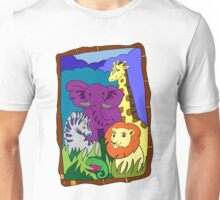 African Animal Party Unisex T-Shirt