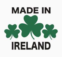 Made in Ireland shamrocks Kids Tee