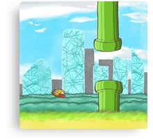 Flappy Bird HD Canvas Print