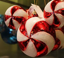 Mickey Mouse Christmas Bauble by jennisney