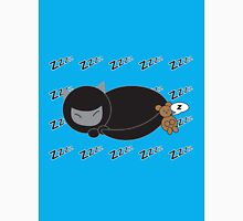Ninja Kitty and Mouse Sleeping Unisex T-Shirt