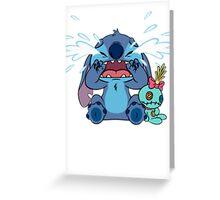 Crying Stitch Greeting Card