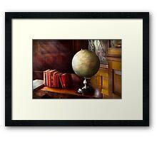 Lawyer - A world traveler Framed Print