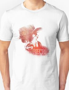 Django Unchained Red Unisex T-Shirt
