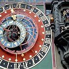Zodiac clock by Arie Koene