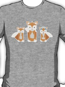 See, Hear and Say No Evil (Fox Edition!) T-Shirt